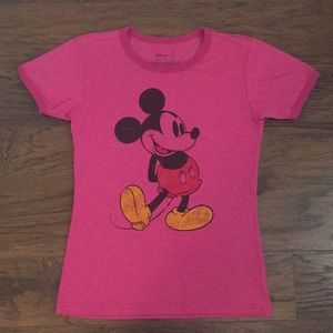 NWOT Distressed Disney Store Mickey Mouse T-Shirt